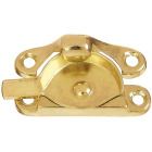 National Bright Brass 7/8 In. Crescent Sash Lock Image 1