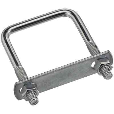 National 5/16 In. x 2 In. x 3 In. Zinc Square U Bolt