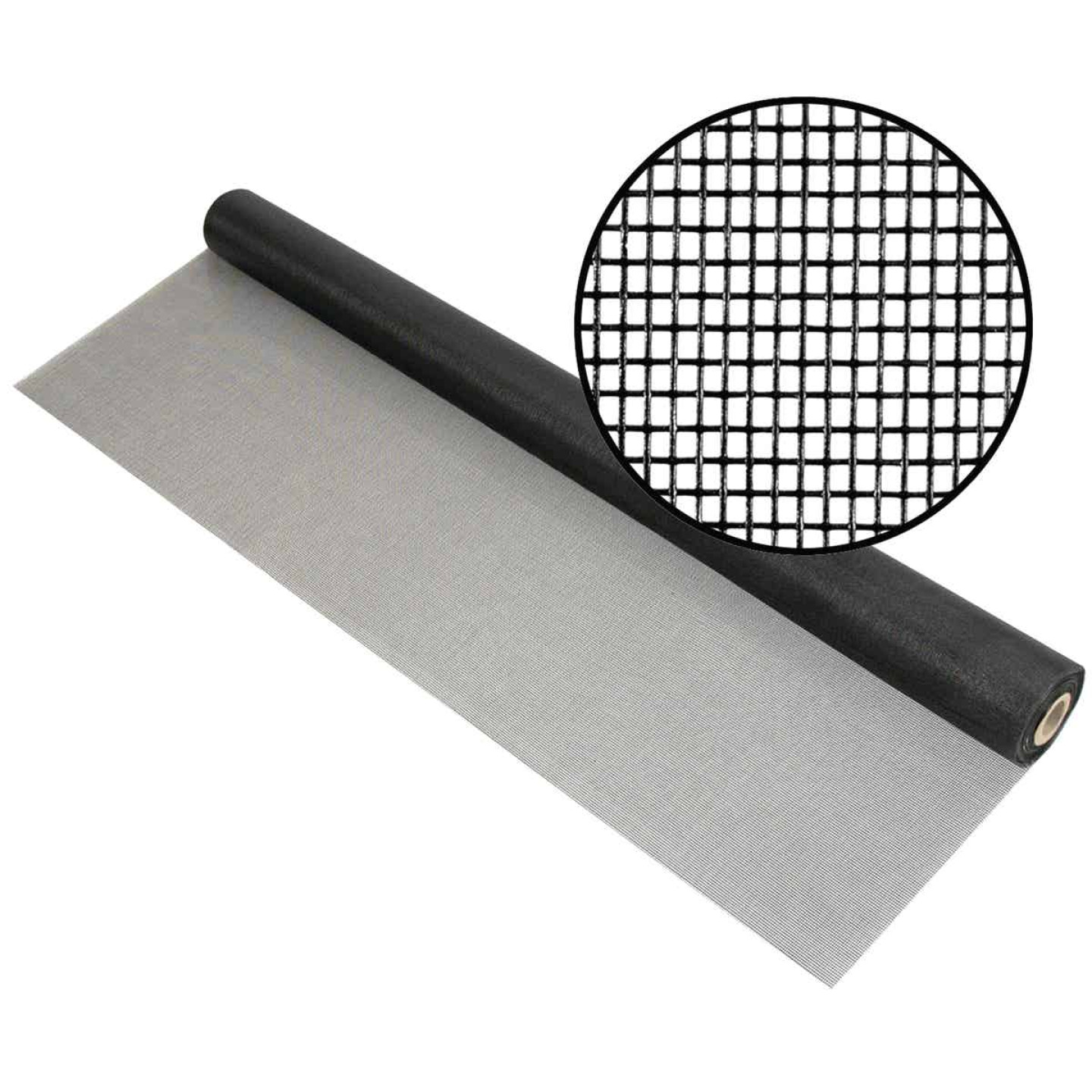 Phifer 60 In. x 100 Ft. Charcoal Fiberglass Pool Screen Image 1