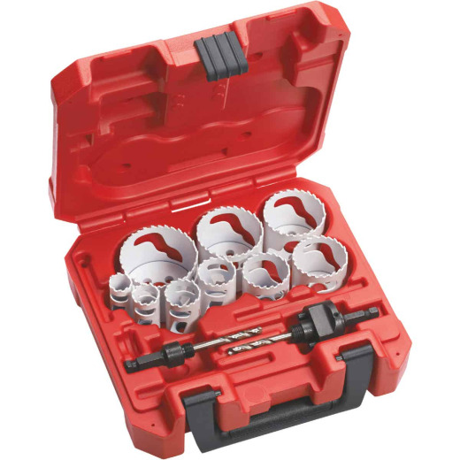 Milwaukee Hole Dozer Bi-Metal General Purpose Hole Saw Set (13-Piece)