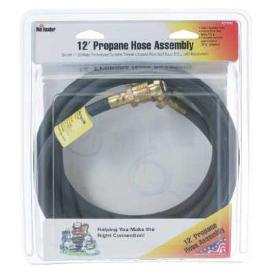 MR. HEATER 12 Ft. x Swivel 1 In.-20 MTCT Mr. Heater Buddy LP Hose Assembly