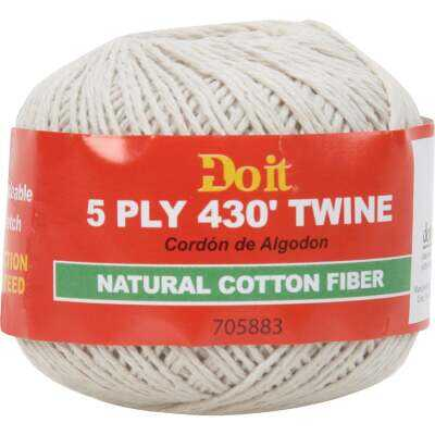 Do it 5-Ply x 430 Ft. Natural Cotton Twine