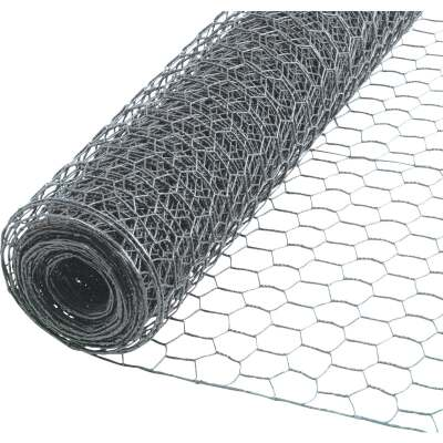 Do it 1 In. x 36 In. H. x 50 Ft. L. Hexagonal Wire Poultry Netting