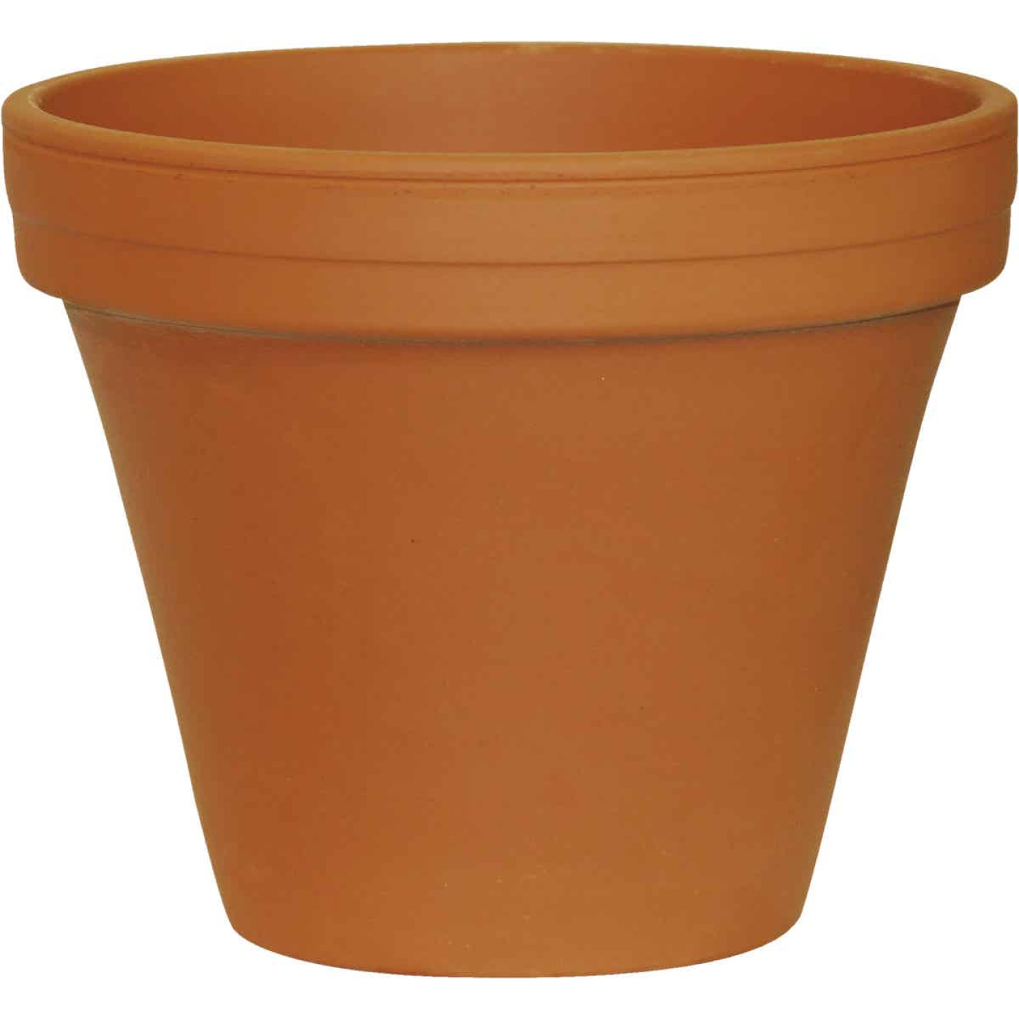 Ceramo 5-1/4 In. H. x 6 In. Dia. Terracotta Clay Standard Flower Pot Image 1