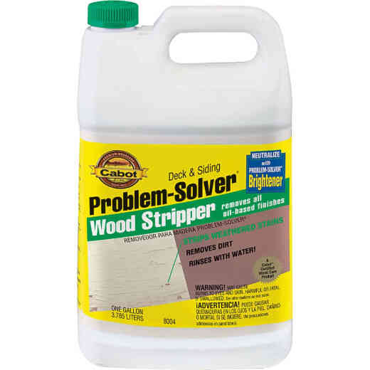 Cabot Problem-Solver 1 Gal. Exterior Stain & Paint Remover